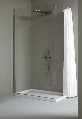gal walk in shower