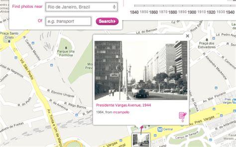 imagenes historicas google maps historypin junta fotos comuns e hist 243 ricas com o google