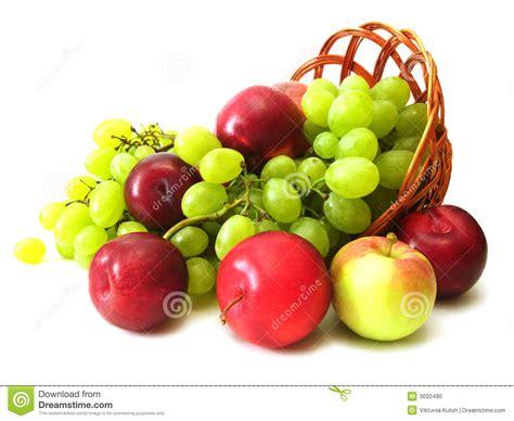 Imagenes De Uvas Y Manzanas | uvas penacho y manzana foto de archivo imagen 3032490