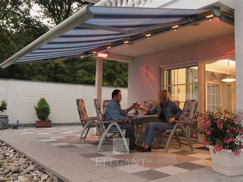 patio awning lights awnings with lights patio awning lights by uk