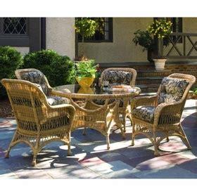 Whitecraft Patio Furniture Woodard Whitecraft Sommerwind Dining Set Five