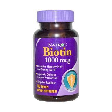 Biotin Puritan Termurah jual multivitamin suplemen biotin 7500 10000 mcg
