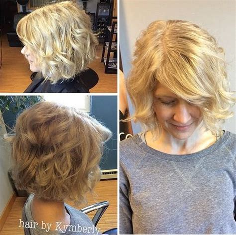 hairstyles featuring curls 40 cute styles featuring curly hair with bangs bobs