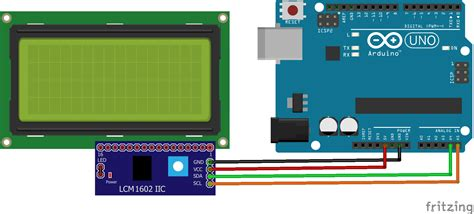 arduino code with lcd real time clock on 20x4 i2c lcd display with arduino