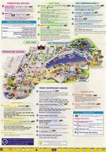 universal studios florida park maps informations