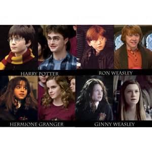 harry potter weasley hermione granger ginny weasley