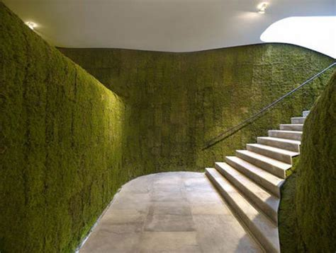 Vertical Moss Garden Showcase Of Inspirational Concept Stores Hongkiat