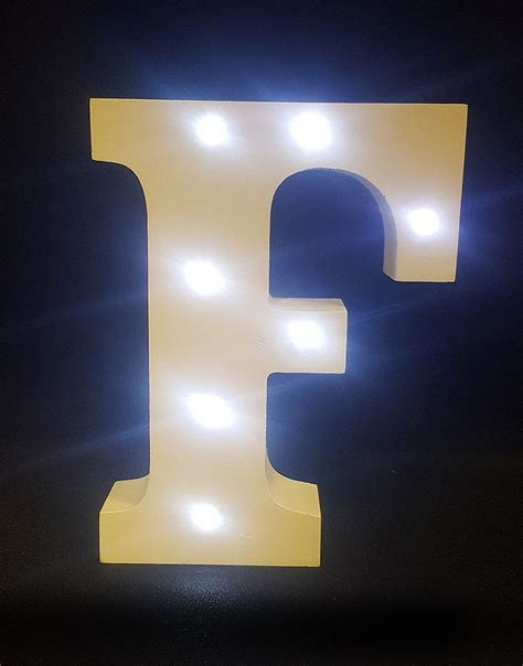 light up letters to buy buy wooden led light up letter white f from chair cover