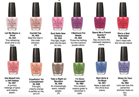 Opi Nail Colors by Opi New Orleans Nail Colors The Daily Details