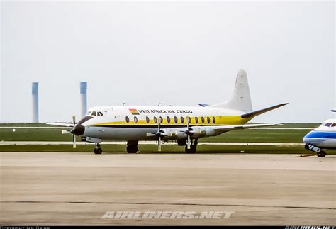 vickers 814 viscount west africa air cargo aviation photo 5098127 airliners net