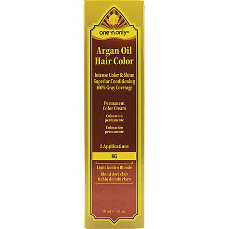 8g hair color one n only argan permanent hair color