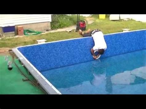 installing pool lights existing pool pool liner replacement part 4 installing skimmers light