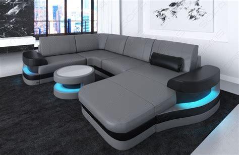 u shaped leather sofa modern leather sofa ta u shape grey white