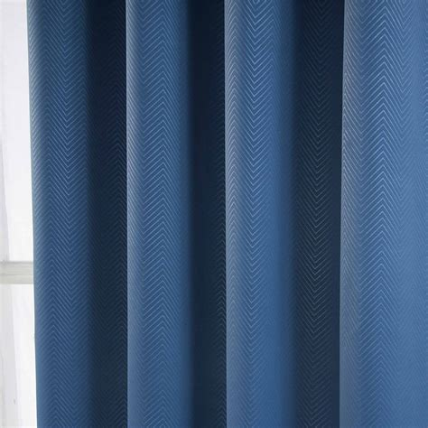 chevron blackout curtains herringbone chevron blackout thermal ready made curtains