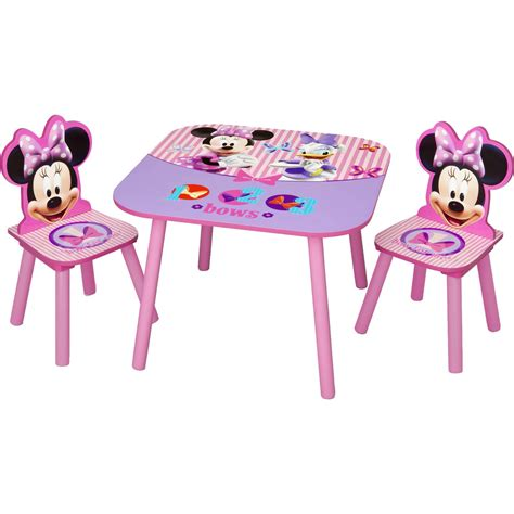 Minnie Table And Chair Set by Disney Minnie Mouse 3 Pc Table And Chair Set Tables