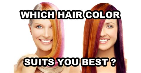 which hairstyle suits me best hair color for me hairstylegalleries