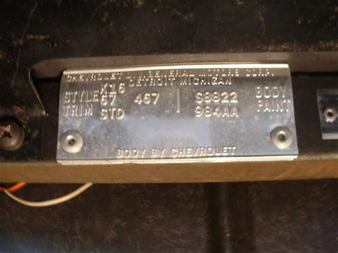 1979 corvette vin decoder need help with 1967 trim tag and vin corvetteforum