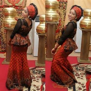 More dose of aso ebi styles from the asoebi police featuring anakara