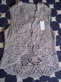 patrones de tejido gratis chaleco tejido en redondo la neenaa celorio crochet y moda