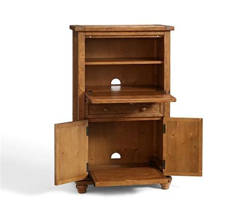 Armoire Office by Cortona Office Armoire Pottery Barn