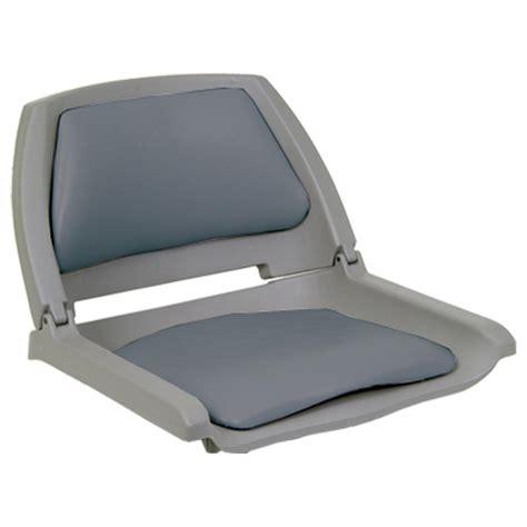 used folding boat seats action padded copolymer folding boat seat 95980 fold