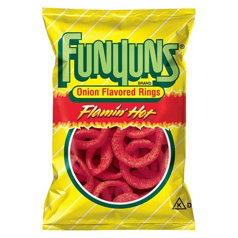 hot funyuns chips calories funyuns onion flavored rings hot walgreens
