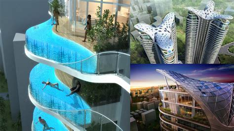 mumbai hotel with pools in every room this building s balconies are swimming pools gizmodo australia