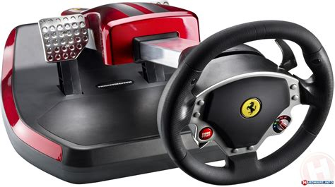 volante f430 thrustmaster wireless gt cockpit 430 scuderia edition