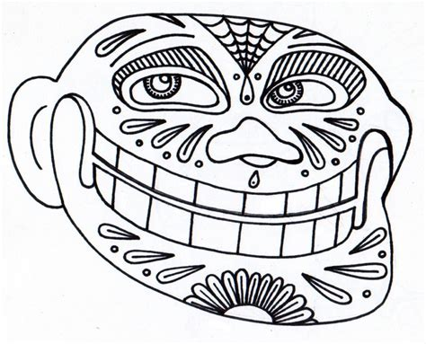 day of the dead face coloring pages day of the dead skull coloring pages coloring home