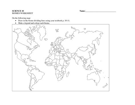 ask a biologist coloring page biome map worksheets biome worksheet bumdig free worksheets for