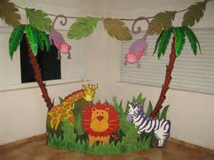 Safari Shower Curtains Fiesta De Cumplea 209 Os Animales De La Selva Imagui