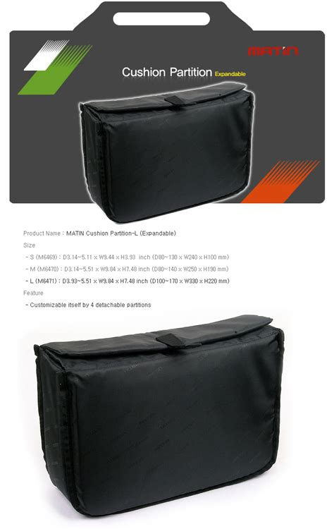 ebay unpaid item case new matin camera insert extendable partition padded bag l