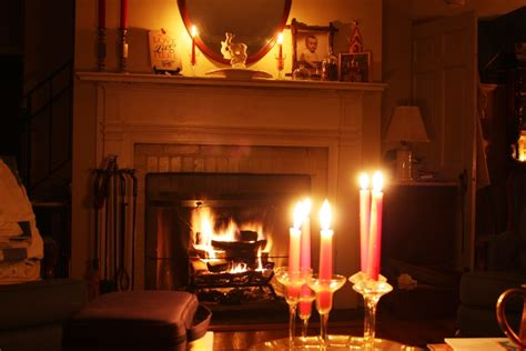 romantic candlelit bedroom stormy weather report let s face the music