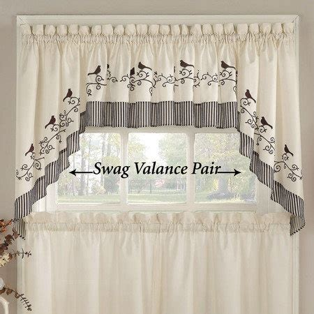 Swag Curtains For Kitchen Windows 27 Best Images About Window Treatments On