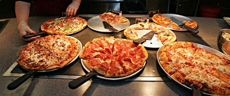 the pizza buffet the four to health