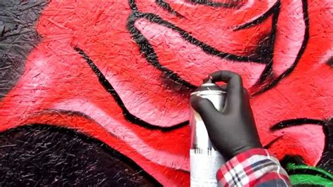 spray painted roses how to paint a in spray paint