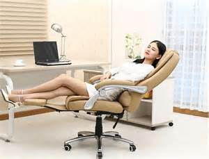 Computer Lounge Chair reclining leather office chairs ergonomic computer chair