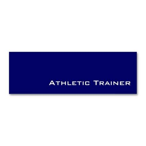 Athletic Business Card Template by 169 Best Images About Athletic Trainer Business Cards On