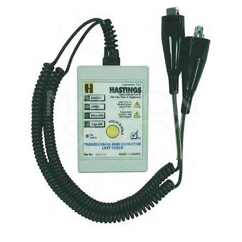 check transformer capacitor tester hastings transformer and capacitor tester