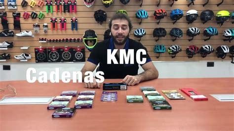 cadena kmc 12 velocidades cadenas kmc para 10 velocidades youtube
