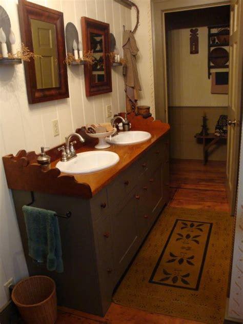 primitive decorating ideas for bathroom best 25 primitive bathrooms ideas on