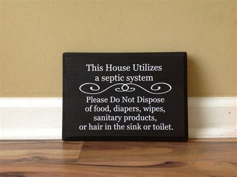 bathroom signs for septic systems 26 best sign for septic toilet images on pinterest