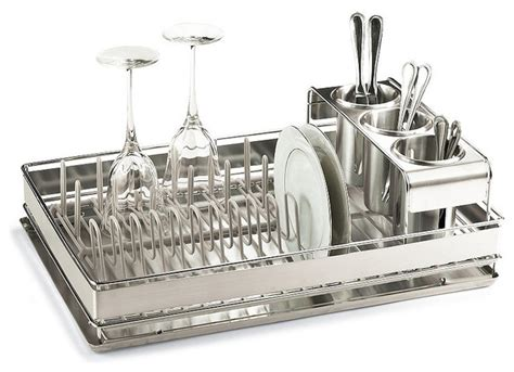 Frontgate Home Decor by Best Of Basics Dish Rack Traditional Dish Racks By