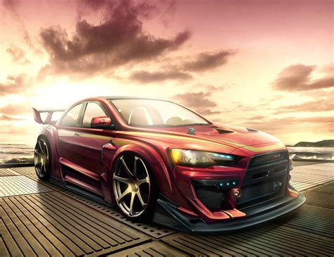 mitsubishi lancer wallpaper hd mitsubishi lancer evolution x wallpapers wallpaper cave