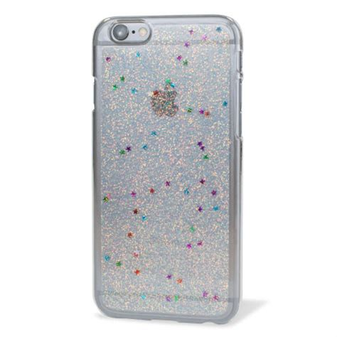 Gelitar Iphone 6 encase glitter sparkle iphone 6 silver