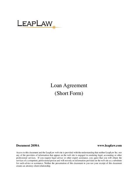 Lending Contract Template lending contract template sle resume for warehouse position