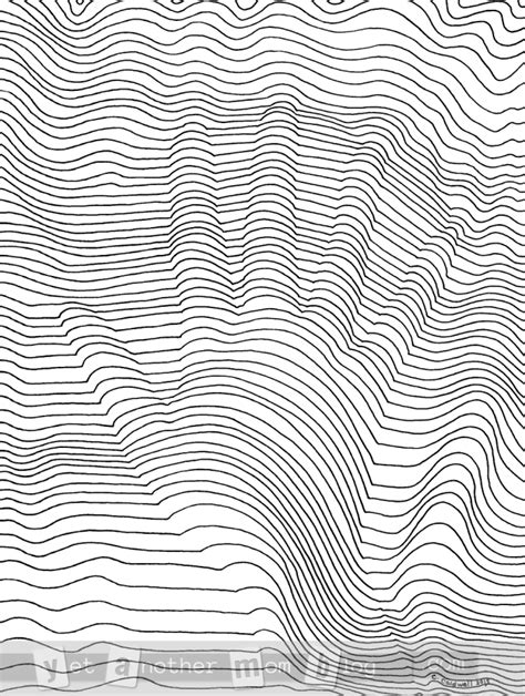 Coloring Page 3d by Cool 3d Line Free Coloring Page Pdf Or