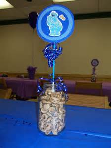 cookie centerpiece pin by jenkins on zachary s 2nd b day