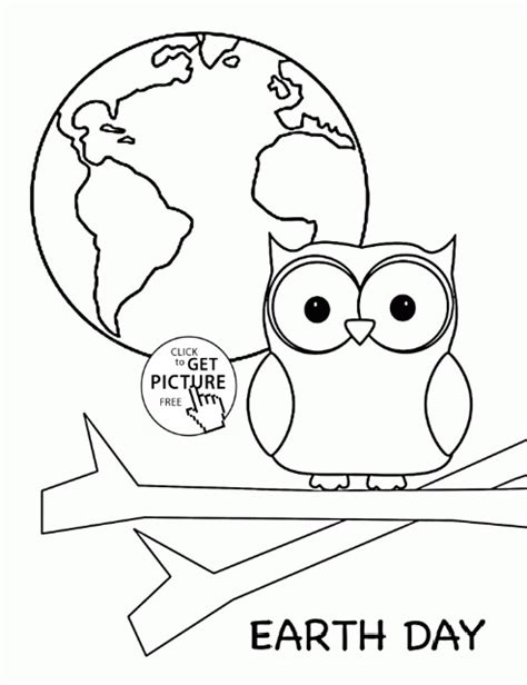 preschool coloring pages earth day free earth day coloring page for kindergarten preschool