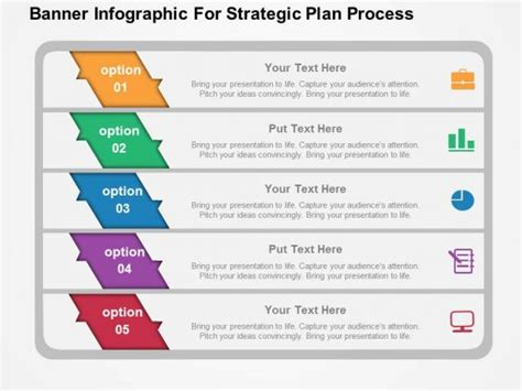 strategic plan powerpoint template banner infographic for